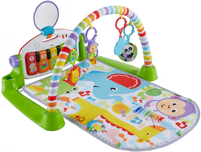 £63.49 • Buy Fisher-Price Kick And Play Piano Gym, New-Born Baby Mat With Activity...