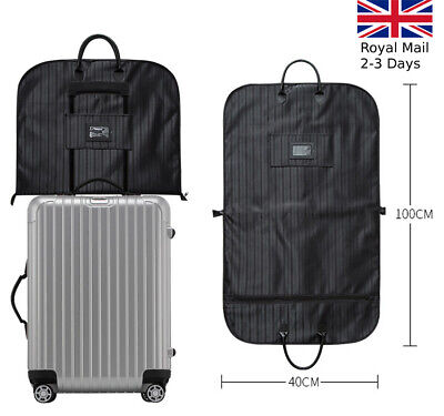 £14.49 • Buy Quality Waterproof Suit Dress Carrier Garment Cover Travel Bag Strong Foldable