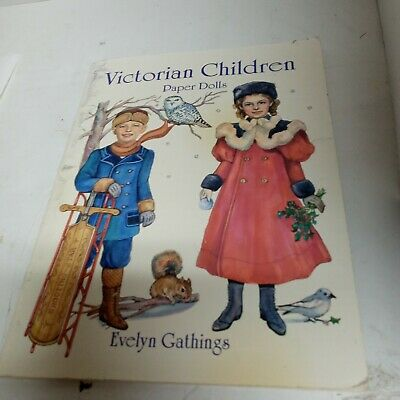 £7.32 • Buy Victorian Children Paper Dolls Evelyn Gathings- UnCut- 29 Different Outfits