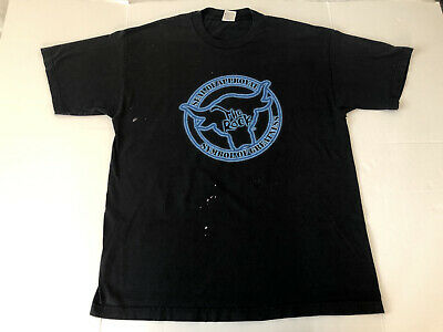 £38.34 • Buy Vintage 90s WWF WWE The Rock  Seal Of Approval  T-Shirt XL Wrestling Very Rare