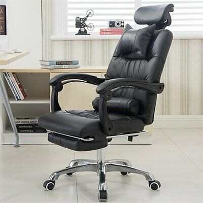 £59.99 • Buy Office Chairs Chair Heavy Duty Executive Reclining Computer Swivel Chair