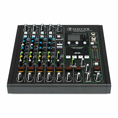 £459 • Buy Mackie Onyx8 - 8-channel Analogue Mixer With 24-bit/96kHz Multi-track Recording