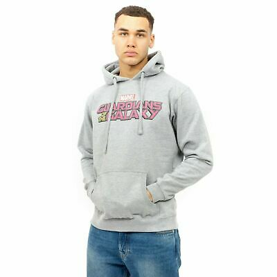 £24.99 • Buy Marvel - Mens - Guardians Of The Galaxy Text Logo - Pullover Hoody - Grey