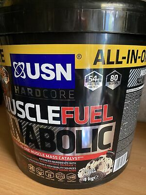 £42 • Buy USN Muscle Fuel Anabolic Muscle Mass Catalyst Cookies & Cream Flavour 4kg
