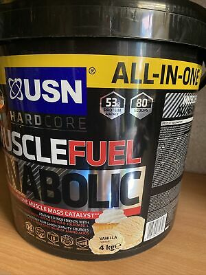 £42 • Buy USN Muscle Fuel Anabolic Van All-in-One Product 4kg - Vanilla