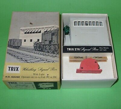 £24.99 • Buy Trix TTR / 276 Signal Box With Whistle & Light / Boxed