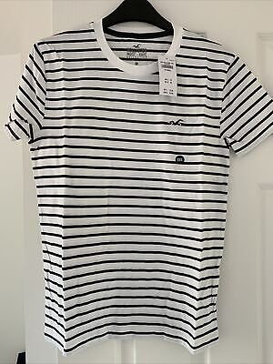 £9.99 • Buy Mens/Teenage Boys Hollister T-Shirt - Size XXS - Brand New With Tags