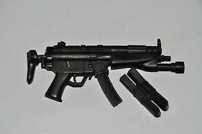 £10.96 • Buy 21st Century Toys 1/6 Scale MP5 Twin Magazine Sub Machine Weapon For 12  Figures