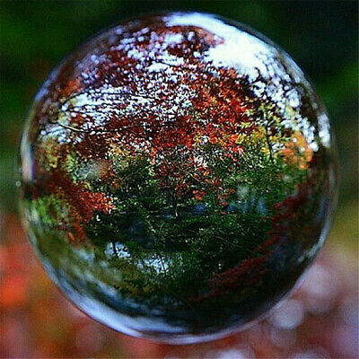 £5.99 • Buy Clear Crystal Ball Healing Glass Lens Sphere Room Photography Decoration 80mm UK