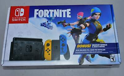$14.49 • Buy **BOX ONLY/NO CODE** Nintendo Switch Fortnite Special Edition WILDCAT BUNDLE