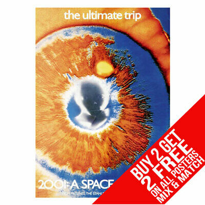 £8.99 • Buy 2001 A Space Odyssey Bb4 Poster Art Print A4 A3 Size Buy 2 Get Any 2 Free