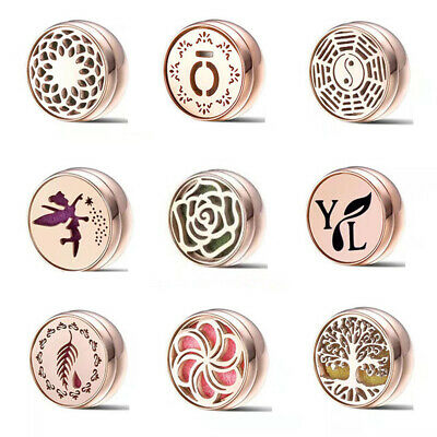 AU6 • Buy Essential Oil Diffuser Mask Air Fresh Aromatherapy Magnetic Buckle 8 Felt Pads