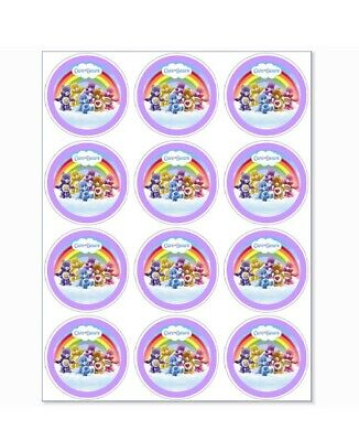 £1.50 • Buy 12 Care Bears Party Stickers