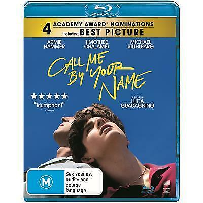 AU23.95 • Buy Call Me By Your Name Blu-ray | A Film By Luca Guadagnino | Region B