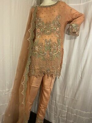 £35 • Buy Pakistani Indian Stitched Designer Party Wear Ethnic Dress Salwar Suit Outfit