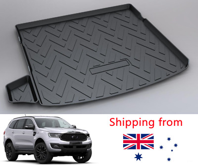 AU49.95 • Buy Rear Cargo Liner Trunk Tray Protection Floor Mat For Ford Everest SUV2015-2021