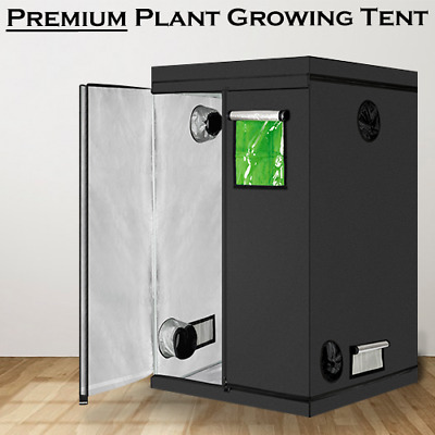 £49.99 • Buy Sturdy Indoor Bud Box Hydroponic Plant Growing Tent Dark Room With Window 600d