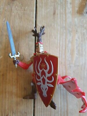 £5 • Buy PAPO Red Knight Knights Figurine Medieval Figure