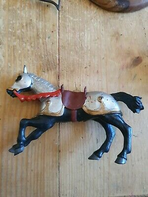 £4 • Buy Horse Figure 2001 Papo Black And Red