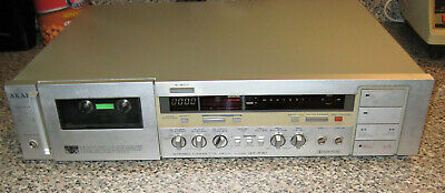 £50.92 • Buy Vintage Akai Cassette Tape Deck GX-F31 Powers On For Parts Or Repair