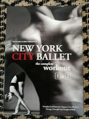 £12.99 • Buy New York City Ballet - Complete Workout 1 & 2 - Exercise / Fitness (2 Disc DVD)