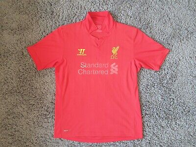 £8 • Buy Liverpool FC, Warrior Home Shirt, Size Large, 2012/13