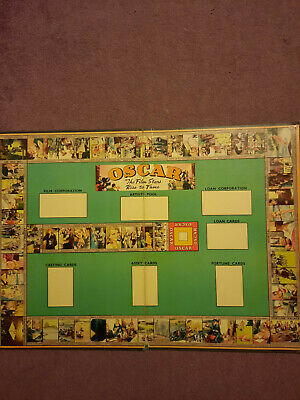£50 • Buy Rare: Oscar The Film Stars Rise To Fame Board Game By Perry, England 1940's