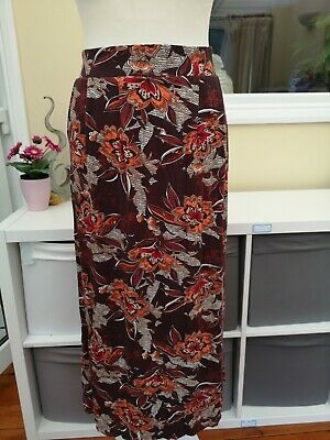 £5 • Buy TU - Ladies Size 16 Spring Summer Stretchy Waist Long Skirt Excellent Condition