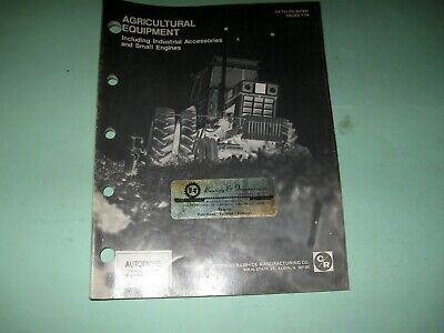 £5.70 • Buy CR Industries Oil Seals Agricultural Equipment Catalogue