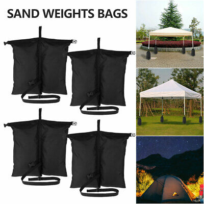 AU34.69 • Buy 4PCS Garden Gazebo Foot Leg Feet Weights Sand Bag For Marquee Party Tent Set^