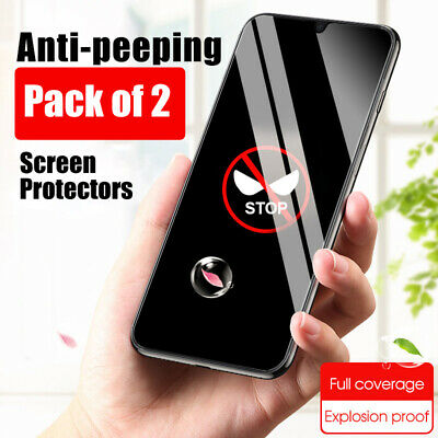AU7.45 • Buy Screen Protector For OnePlus Nord CE 5G N10 PRIVACY FULL COVER TEMPERED GLASS