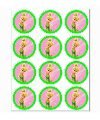 £1.50 • Buy 12 Tinkerbell Party Stickers