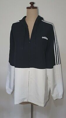 AU39.95 • Buy Adidas Jacket, Black And White, Size Large, Lightweight, New Without Tags
