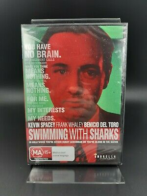 AU4.95 • Buy Swimming With Sharks - 1994 - DVD Region 0 (All) - SEALED - Kevin Spacey