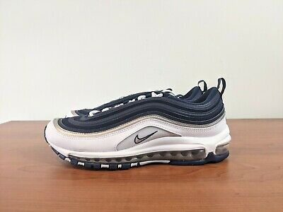 $229.99 • Buy Nike Air Max 97 Dallas Cowboys White Navy Silver Running Shoes DH0612-400 Size 9