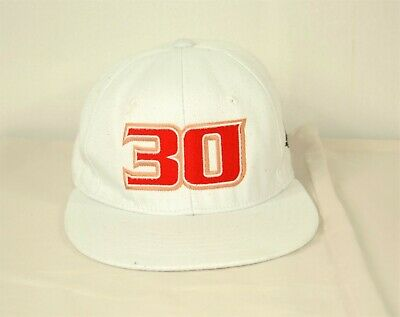 £10 • Buy Adults 30 Embroidered Logo Baseball Cap White Size Large/Extra Large  REF H