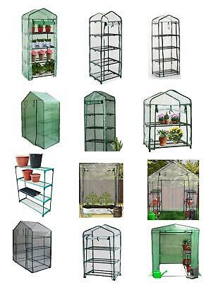 £16.49 • Buy Greenhouse With Shelves PE Or PVC Plastic Outdoor Garden Grow Bag Green House