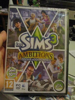 £15 • Buy **Sealed** The Sims 3: Ambitions Expansion Pack (French) Pal PC DVD / Mac