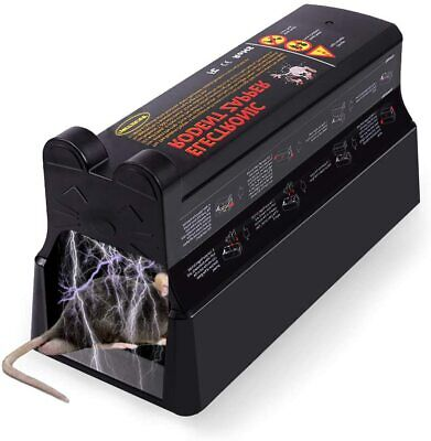 £22.99 • Buy Electronic Mouse Trap Victor Control Rat Mice Killer Pest Electric Rodent Zapper