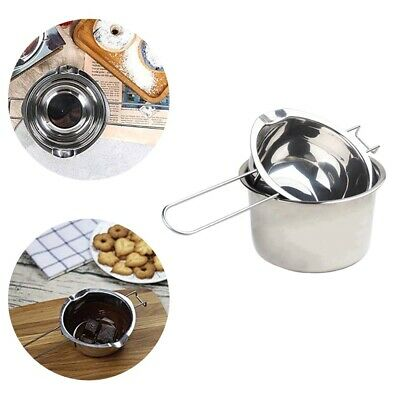£10.42 • Buy 2Pcs/Set Stainless Steel Wax Melting Pot Double Boiler For Candle Soap Making