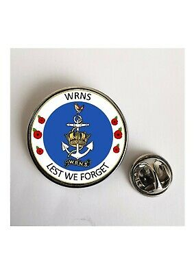 £2.60 • Buy WRNS Womens Royal Navy Service Lest We Forget Military Army Lapel Badge