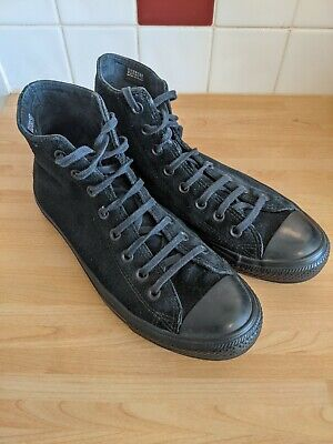 £25 • Buy Converse All Star Chuck Taylor Black Suede Counter Climate Size UK 8