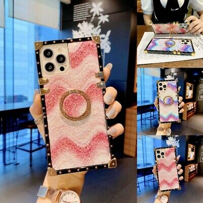 AU14.85 • Buy For IPhone 13 11 12 Pro Max XS XR 6 7 8 Girls Luxury Square Cute Case Phone Case