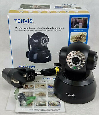£24.99 • Buy Tenvis Wireless Network Camera, JPT3815W. Camera, Disk & Plug Only, Boxed.