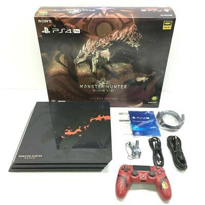 AU616.85 • Buy PS4 PlayStation 4 Pro Console System MONSTER HUNTER WORLD LIOLAEUS EDITION SONY