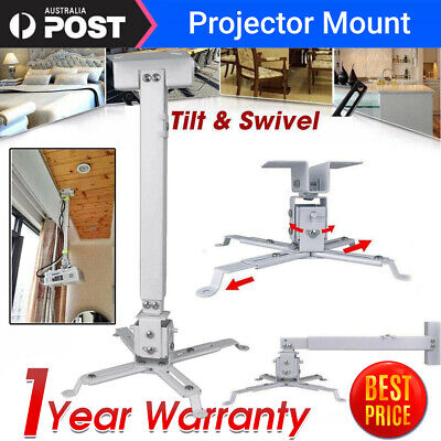 AU24.98 • Buy 2 In 1 Universal LCD Led Projector Extendable Ceiling Wall Bracket Tilt Mount AU