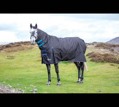 £79.19 • Buy Shires Highlander 200G Horse/Pony Turnout Full Neck Combo Rug In Blac