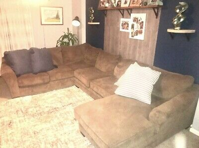 $950 • Buy Ashleys Furniture  Sectional 3 Piece Used Couch Barley Used