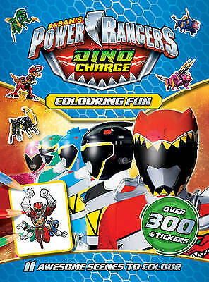 £4.95 • Buy New Power Rangers Dino Charge  Colouring Fun 300 Stickers 9781785573958