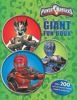 £6.95 • Buy NEW POWER RANGERS GIANT FUN BOOK Over 200 ACTION PACKED ACTIVITIES